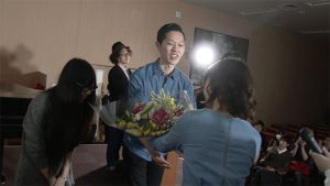 第11回放送 花束贈呈