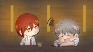 堀川先生と観月先生がどんな飲み屋で何のお酒を飲みながらどんな話をしているのか