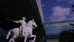 スフォルツァ騎馬像
